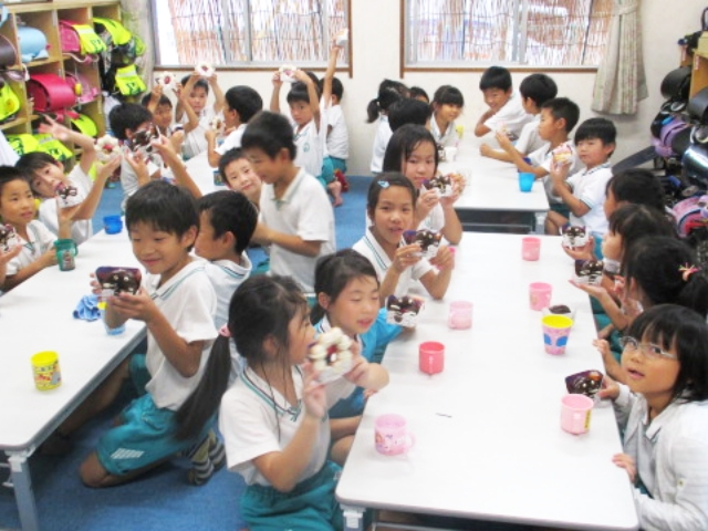 放課後児童クラブの活動 写真